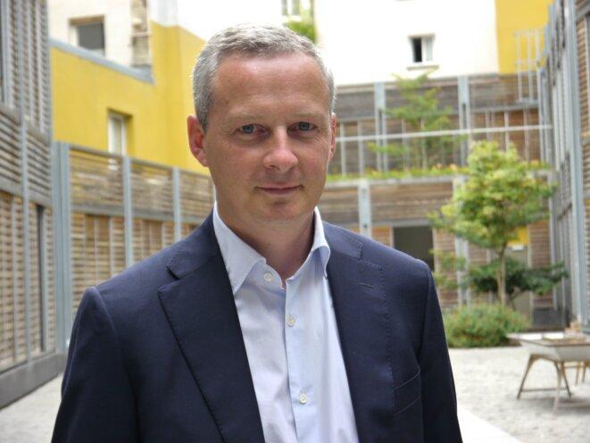 Bruno Le Maire à Mediapart, le 9 juillet.