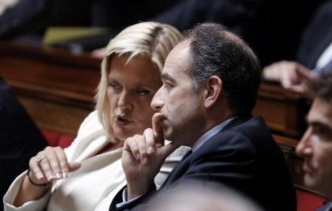 Michèle Tabarot et Jean-François Copé.