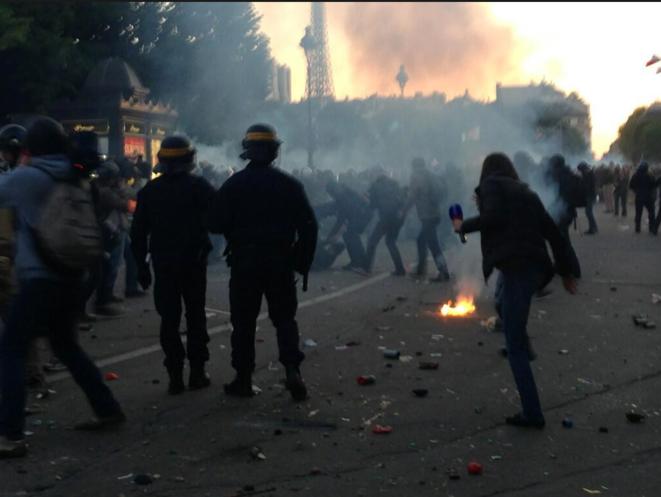 Rue de l'Université. © M.T.
