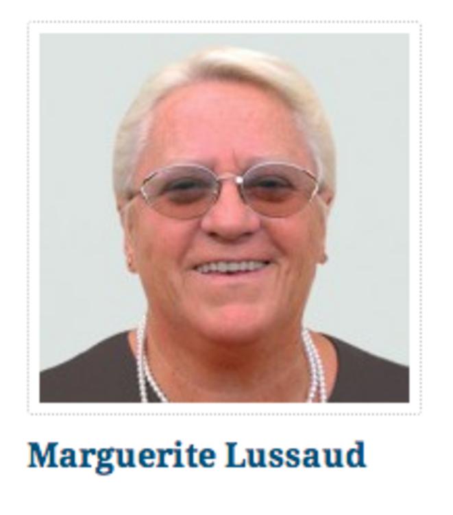 La grand-mère de Laura Lussaud, membre du comité central du FN.