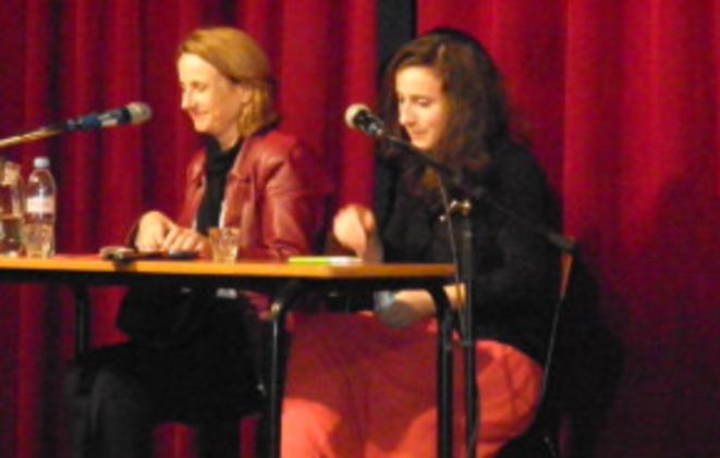 Béatrice Bourges et Adélaïde Pouchol en juin 2013.