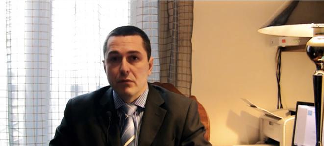 Xavier Moreau sur le site d'Aymeric Chauprade, Realpolitik TV.