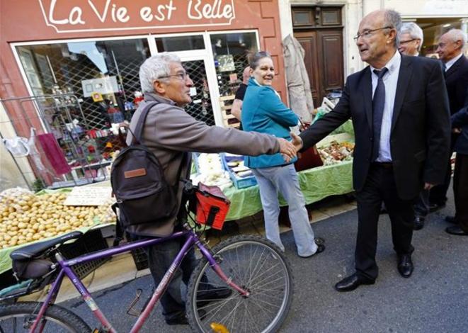 L'ex-FN Jacques Bompard, maire d'Orange depuis 1995 et député depuis 2012. © Reuters