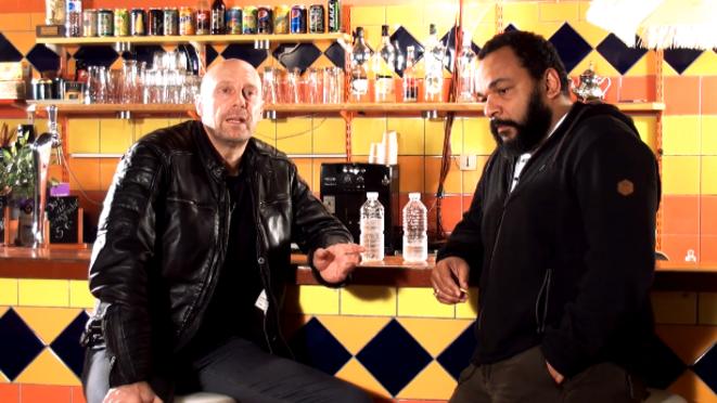 Alain Soral et Dieudonné dans leur vidéo, le 11 novembre 2014.