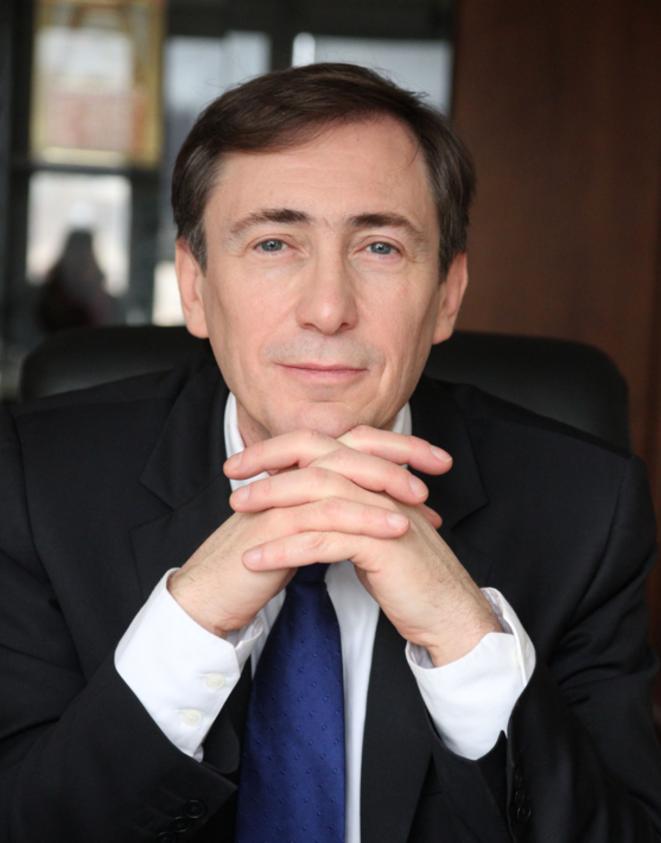 Bernard Monot. © Photo postée sur son blog de candidat aux européennes.