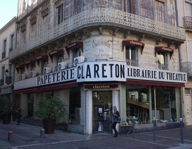 La librairie Clareton, établissement historique de Béziers. © M.T. / Mediapart