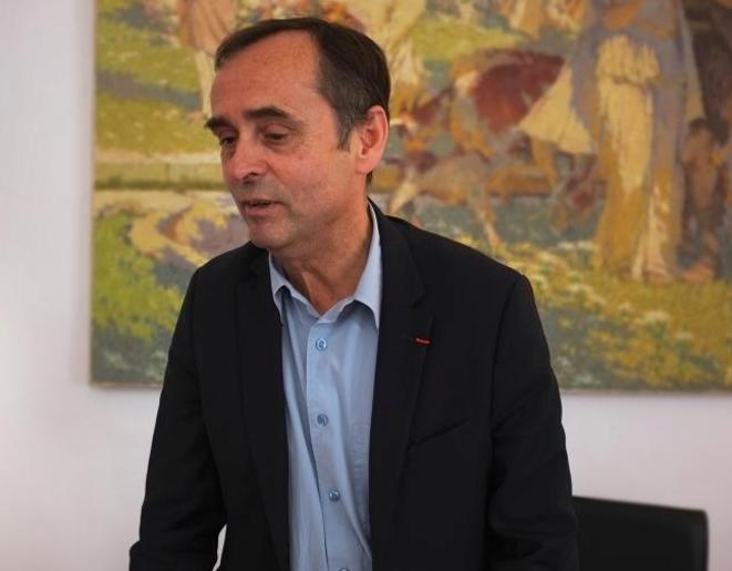 Robert Ménard, le 6 novembre 2014. © M.T. / Mediapart