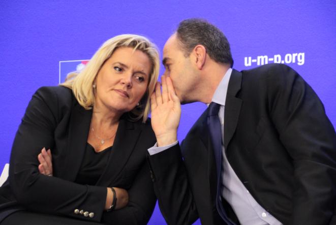 M. Tabarot et J-F. Copé le 21 novembre 2012. © UMP Photos