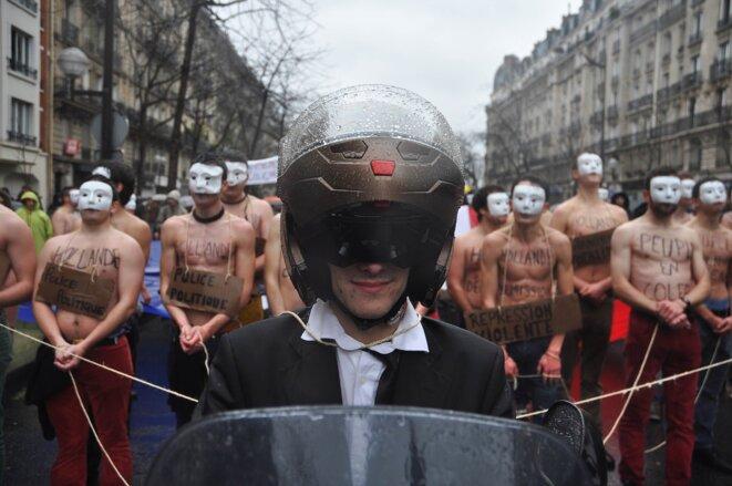 Les Homen, dans la foule, dimanche. © Nicolas Serve