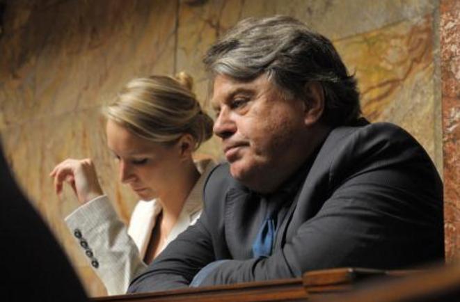 M. Maréchal-Le Pen et G. Collard.