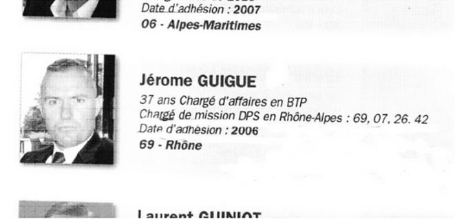 Présentation officielle de Jérôme Guigue pour sa candidature au Comité Central du FN, lors du Congrès de Tours en 2011. © Reflexes