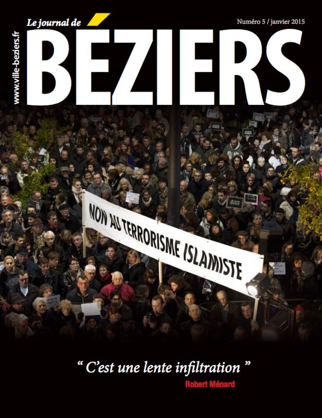 Le dernier numéro du journal municipal de Béziers.
