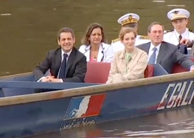 N. Sarkozy en Guyane.