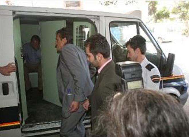 Roch Tabarot lors de son arrestation, en 2008.
