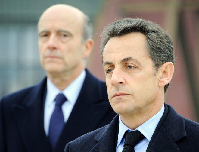 N. Sarkozy et A. Juppé © Reuters