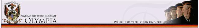 Le bandeau du site Internet d'Olympia.