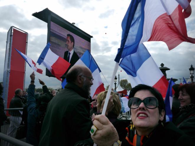 Place de la Concorde, le 15 avril 2012.