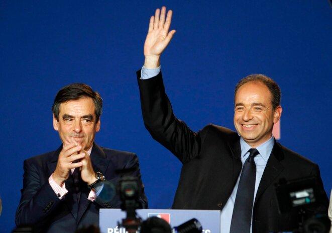 François Fillon et Jean-François Copé en mai 2012.