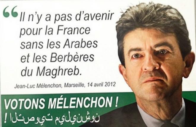 Le faux tract du Front national.