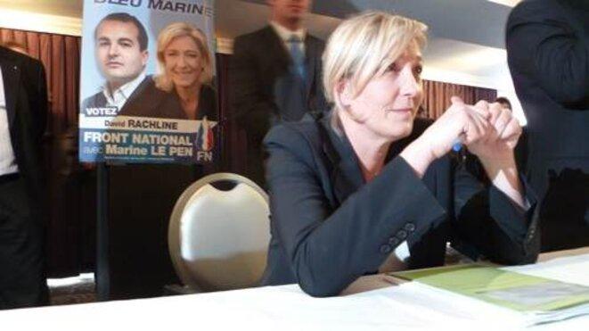 M. Le Pen à Fréjus (Var).