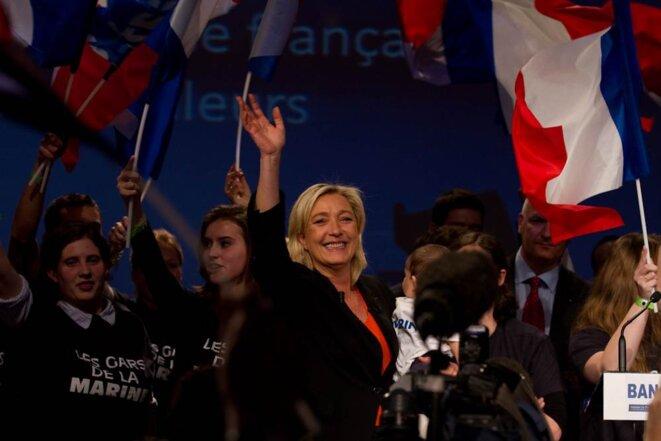 M. Le Pen le 19 novembre. © Thomas Haley