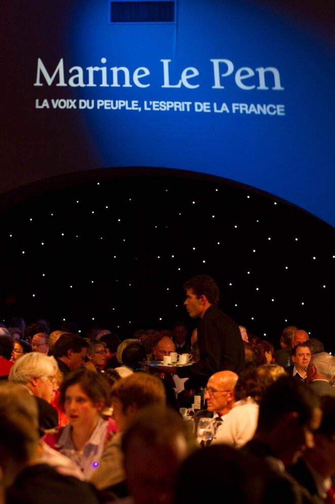 Au «banquet des mille», le 19 novembre. © Thomas Haley