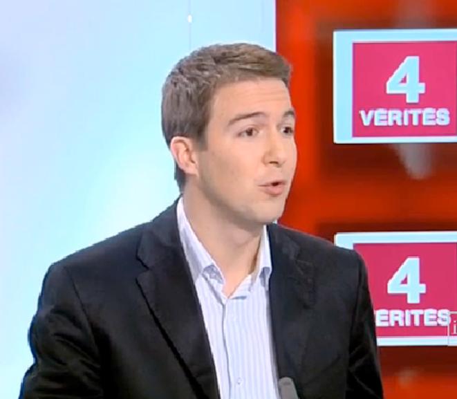 G. Peltier le 4 janvier 2007 sur France 2.