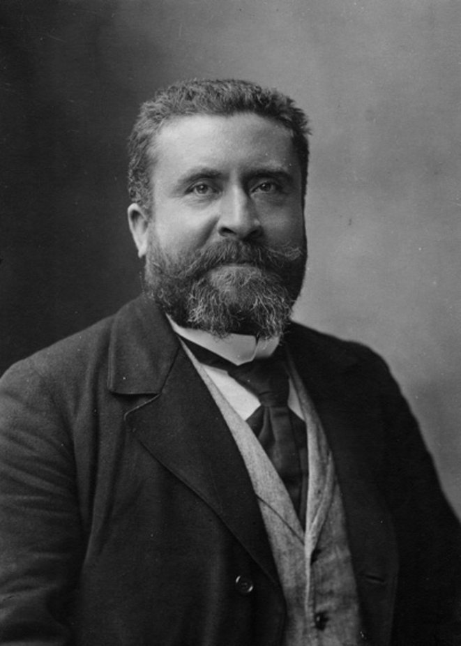 Jean Jaurès, en 1904, par Nadar.