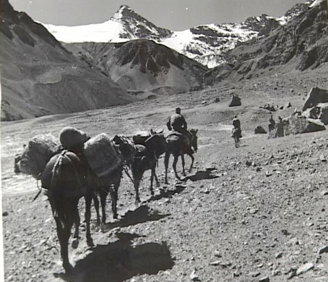 Lors de l'ascension du Fitzroy, en Argentine