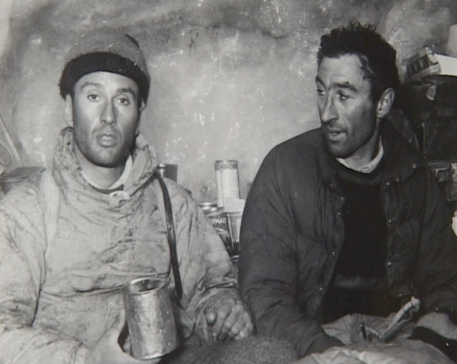 Lionel Terray et Guido Magnone
