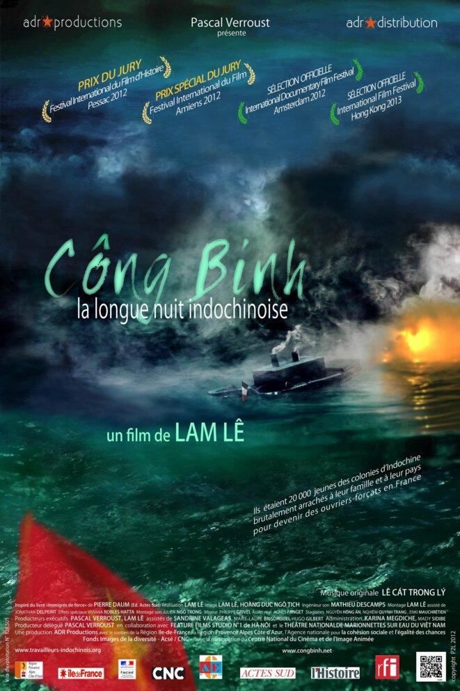 Affiche du film Công Binh, la longue nuit indochinoise