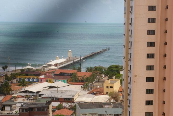 Ponte metálica – Bairro Praia de Iracema – Fortaleza – Ceará – Brasil © Marco Pol Avallon