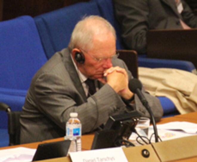 W. Schäuble (70 ans) © 3Ufer