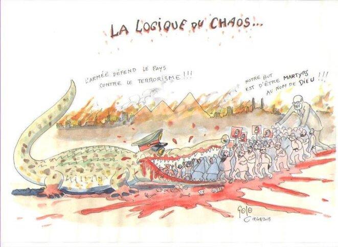 LA LOGIQUE DU CHAOS © GOLO