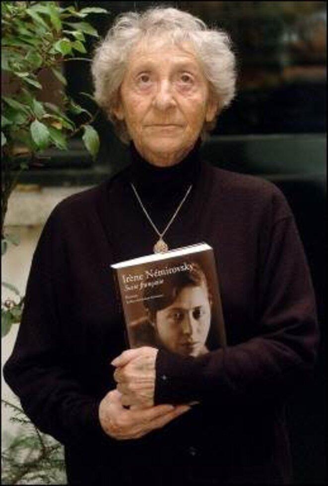 Denise Epstein en 2004 © Guillaume Delaby