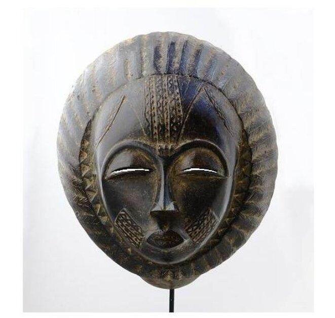Masque ancien Baoulé, Côte d'Ivoire, Afrique © DR / Boum (retouches)