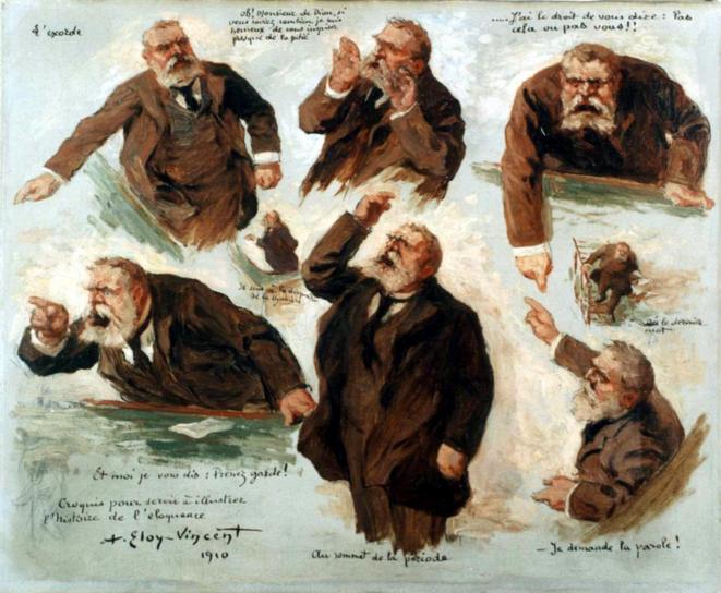 Jean Jaurès, tel qu'il aurait dû être campé par une gauche hélas! tétanisée en 1919.