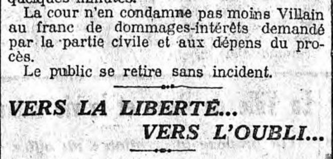 """Le Matin"", 30 mars 1919"