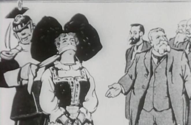 La caricature qui mit le feu à l'esprit surchauffé de Raoul Villain