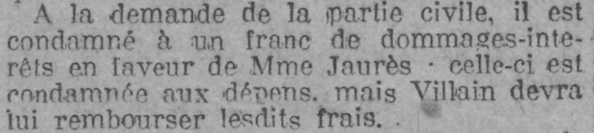 """Le Rappel"", 30 mars 1919"