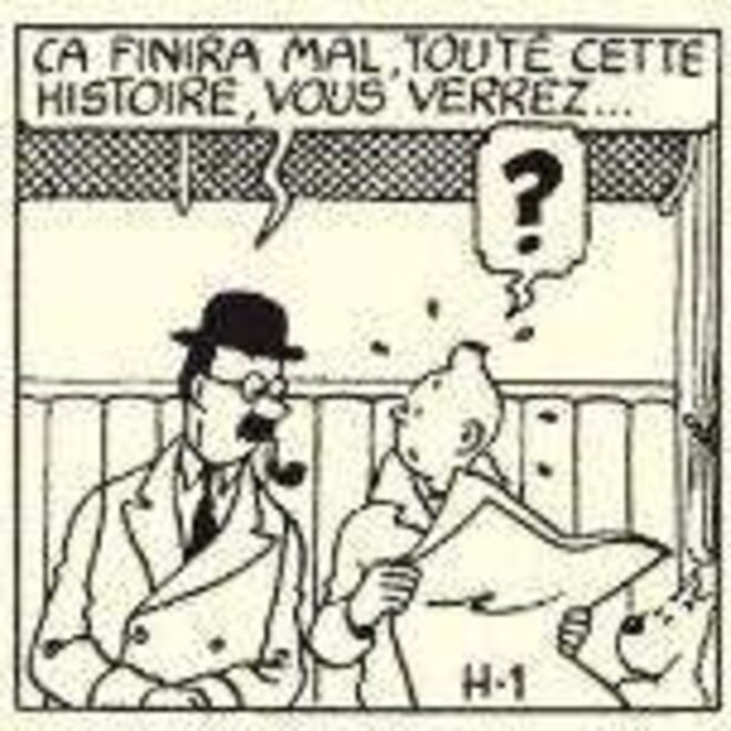 © Hergé / Casterman / Moulinsart