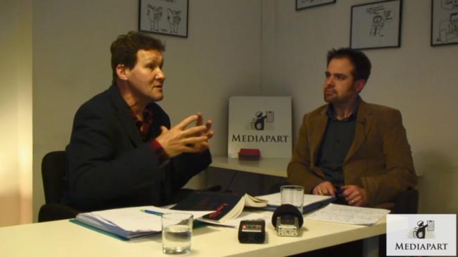 Hugues Lagrange, à gauche, et Cris Beauchemin