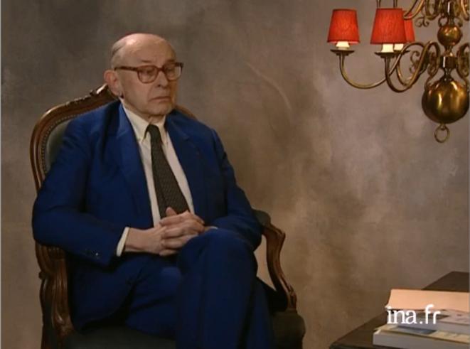 Jacques Lonchampt (1925-2014). Archives INA tirée de l'entretien filmé en 2005 avec Bruno Serrou