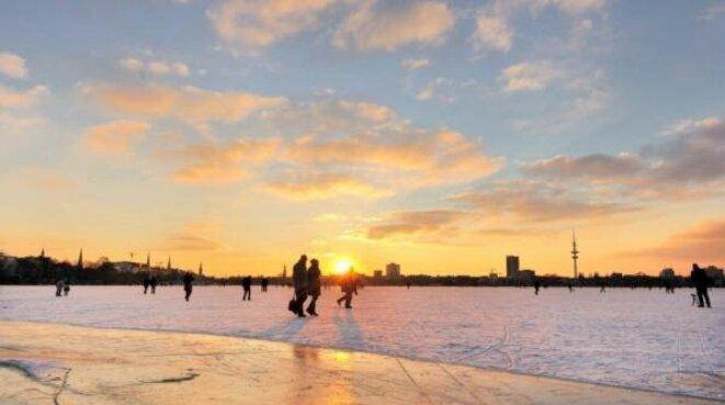 Alster gelée 2012 © HafenReport