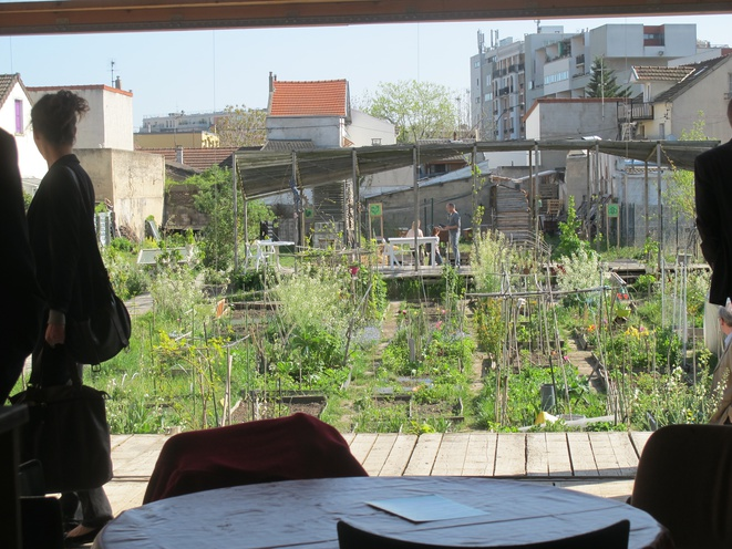 l'agrocité: le jardin, intérieur/extérieur © Patrick Laroche