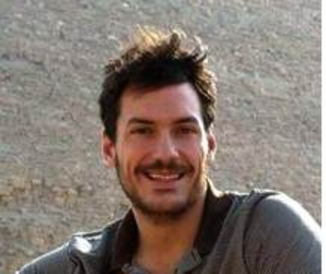 Austin Tice, journaliste américain disparu en Syrie depuis le 13 août 2012.