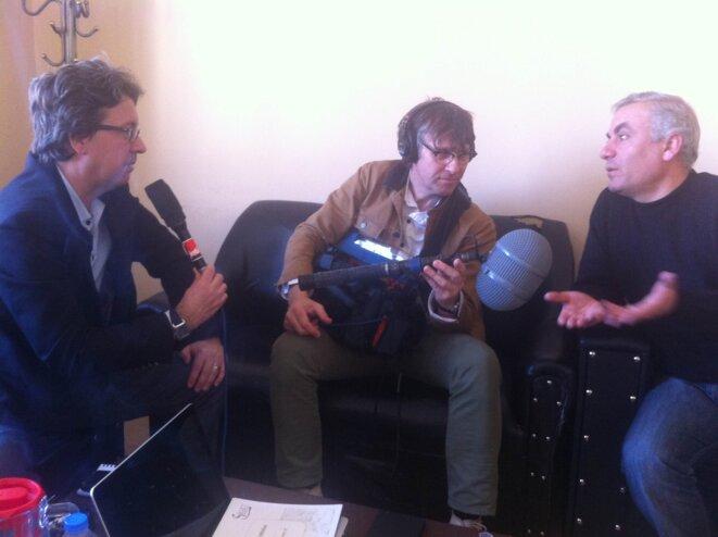 Ali Safar interviewé par Christian Chesnot de France Inter