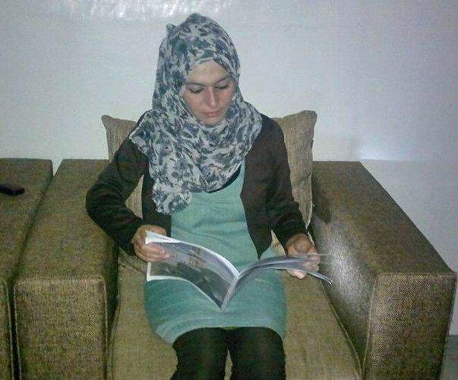 Jeune femme syrienne