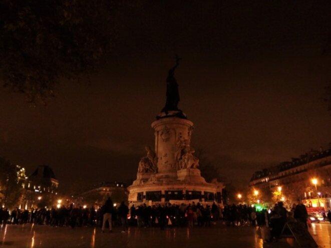 Place de la la République - samedi 14 novembre 2015