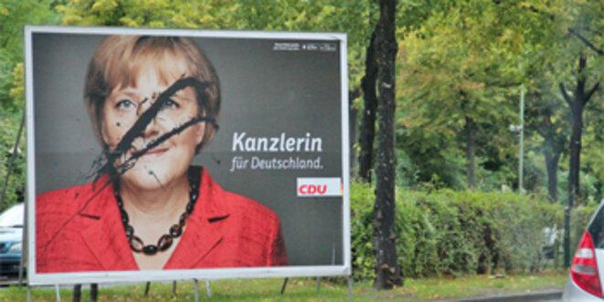 Fidèle au service des Etats-Unis - Angela Merkel.